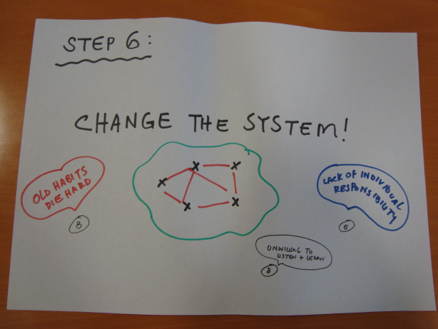 Step 6: Change the System